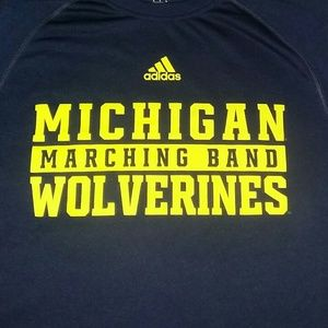 Michigan Marching Band Wolverines Jersey T Shirt